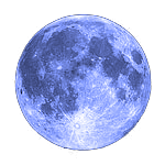 October, 2020 blue moon
