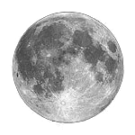 April, 2020 full moon