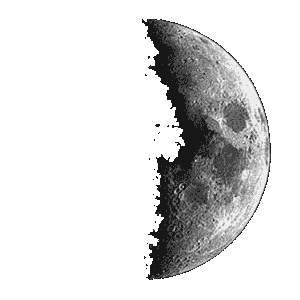 Berehove: waxing moon